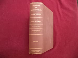 The Missions and Missionaries of California. Vol.: Engelhardt, Fr. Zephyrin,