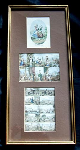 Original Uncut LeBlond Needlebox Prints