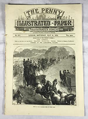 The Penny Illustrated Paper, Illustrated Times. No 611, May 31, 1873. Vol. XXIV. (The Derby. View...