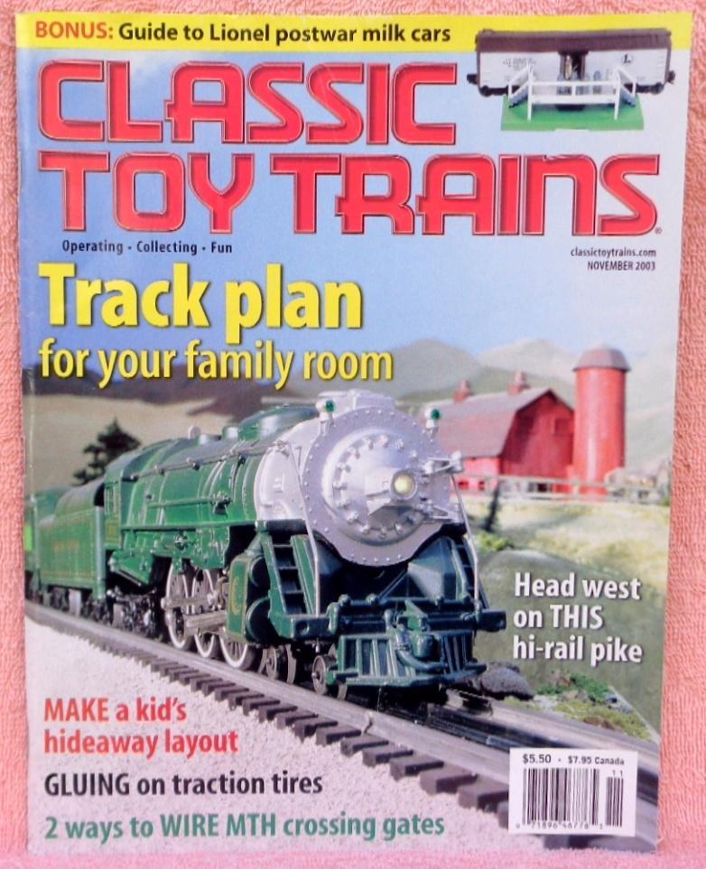 Classic Toy Trains November 2003