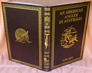 An American Angler in Australia - Leather Limited Edition: Grey, Zane
