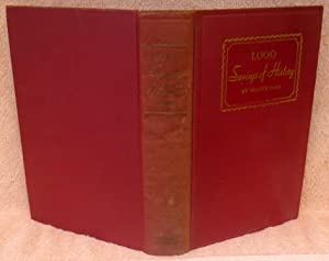 1,000 Sayings of History Presented as Pictures in Prose: Fogg, Walter