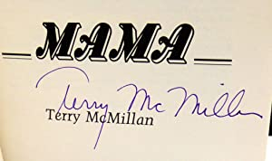 Mama - SIGNED 1st Edition/1st Printing: McMillan, Terry