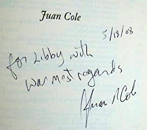Napoleon's Egypt: Invading the Middle East - SIGNED: Cole, Juan