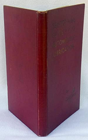 Service Man's Guide to Automotive Lubrication - 1st Edition/1st Printing: Pile, J. Howard