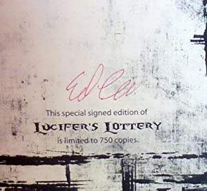 Lucifer's Lottery - SIGNED Limited Edition: Lee, Edward