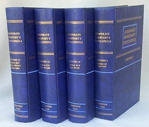 Corporate Secretary's Encyclopedia 4-Volume Set: Doris, Lillian;Friedman, Edith J.