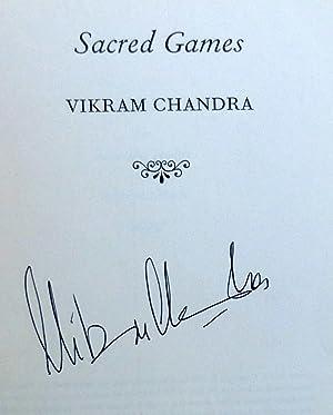 Sacred Games: A Novel - SIGNED 1st Edition/1st Printing: Chandra, Vikram