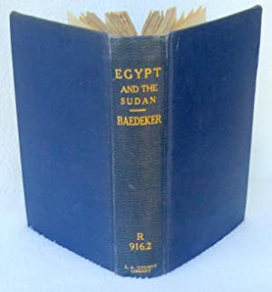 Egypt and the Sudan: Handbook for Travellers: Baedeker, Karl