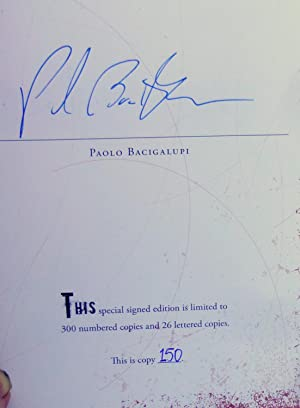 The Drowned Cities - New SIGNED Limited Edition: Bacigalupi, Paolo