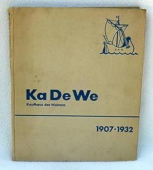 Ka De We : Das Kaufhaus des: No Author Given