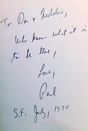 Between the Rock and the Hard Place - SIGNED 1st Edition/1st Printing: Jacobs, Paul