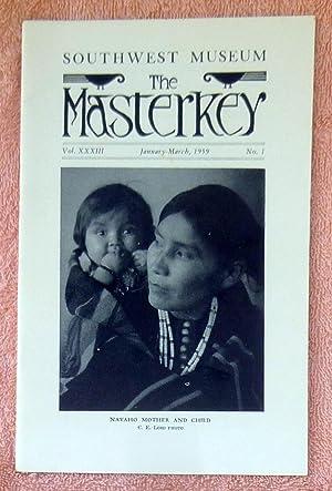 The Masterkey Vol. 33 No. 1 January-March: Johnston, Bernice Eastman;Cordy,