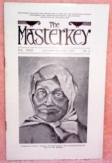 The Masterkey Volume 29 No. 6 November-December: Johnston, Bernice Eastman;Simpson,