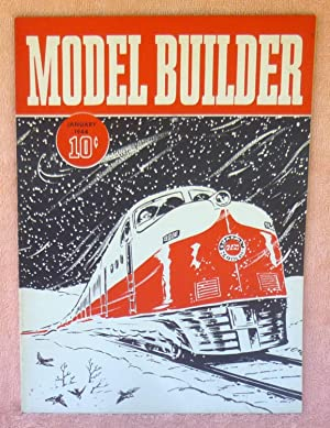Model Builder January 1944 - Magazine: Ellison, Frank;Yates, Raymond F.
