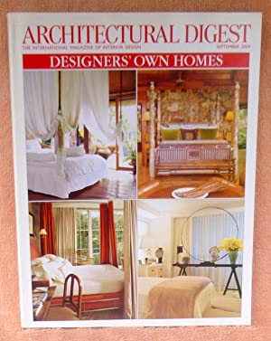 Architectural Digest September 2004: Multiple Contributors
