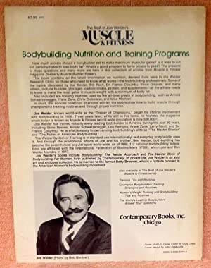 Bodybuilding Nutrition and Training Programs (The Best of Joe Weider's Muscle and Fitness): ...