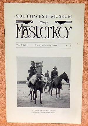 The Masterkey Vol. XXXII January-February, 1958 No.: Simpson, Ruth D.;Harrington,