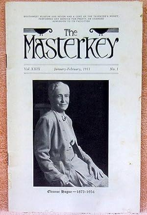 The Masterkey Vol. XXIX January-February 1955 No.: Wallace, William J.;Carter,