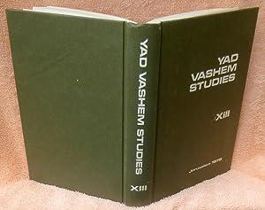 Yad Vashem Studies XIII: Rothkirchen, Livia;Tal, Uriel;