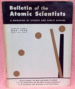 Bulletin of the Atomic Scientists: A Magazine: Benton, William;Rabinowitch, Eugene;Dedijer,