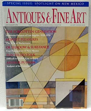 Antiques and Fine Art July/August 1990 -: Heisler, Barry M.;Thomas,