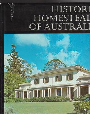 HISTORIC HOMESTEADS OF AUSTRALIA. Historic Buildings of: Australian Council of