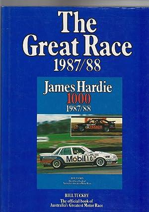 THE GREAT RACE 1987/88 . James Hardie: Tuckey, Bill