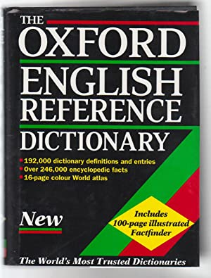 THE OXFORD ENGLISH REFERENCE DICTIONARY: Pearsall, Judy and