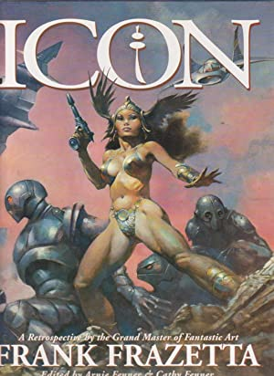 ICON. A Retrospective by the Grand Master: Frazetta, Frank. Edited
