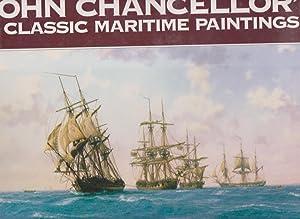 JOHN CHANCELLOR'S CLASSIC MARITIME PAINTINGS: Chancellor, Rita and