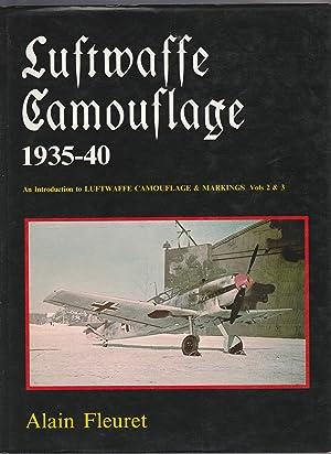 LUFTWAFFE CAMOUFLAGE & MARKINGS 1935-1940: 5 Volumes,: Fleuret; Merrick; Smith;