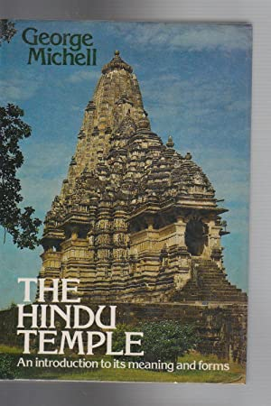 THE HINDU TEMPLE. An Introduction to its Meaning and Forms.