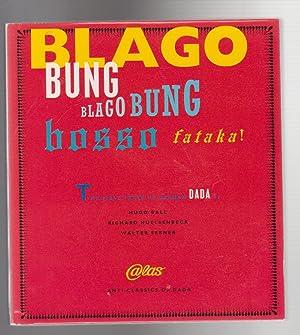 BLAGO BUNG BLAGO BUNG BOSSO FATAKA. First: Ball, Hugo, Richard