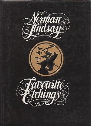 FAVOURITE ETCHINGS (Black Jacket): Lindsay, Norman