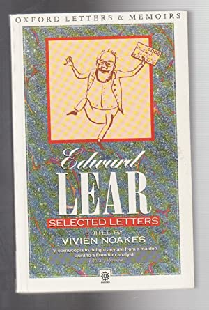 SELECTED LETTERS: Lear, Edward and