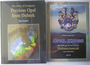 The Story of European Precious Opal from Dubnik WITH a colourful poster covering the genealogy of ...