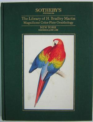 The Library of H Bradley Martin: Magnificent Color-Plate Ornithology [Volume 2 only of a nine-vol...
