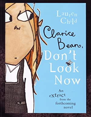 Clarice Bean, Don't Look Now *Signed Sampler*: Lauren Child