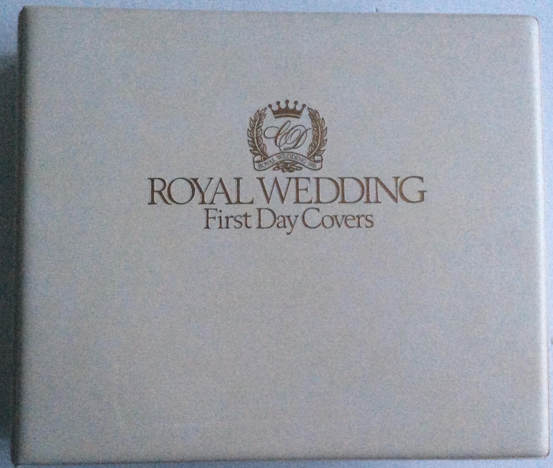 ROYAL_WEDDING_FIRST_DAY_COVERS_THE_SUMNER_COLLECTION_104_COVERS___[As_New]_[Hardcover]