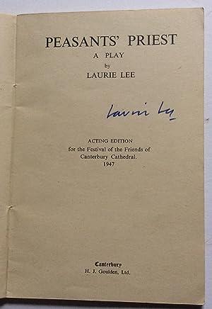 PEASANTS' PRIEST: Lee, Laurie