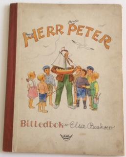 HERR PETER: Beskow, billedbok. Beskow,
