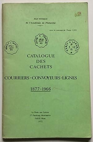 CATALOGUE DES CACHETS COURRIERS-CONVOYEURS-LIGNES 1877-1966: Pothion, Jean