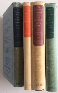 THE POSTAGE STAMPS OF GREAT BRITAIN FOUR VOLUMES: Seymour
