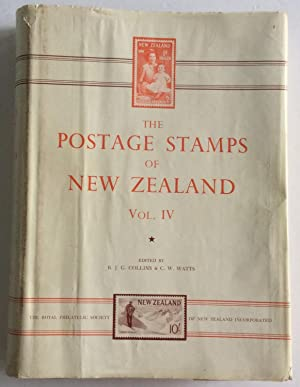 THE POSTAGE STAMPS OF NEW ZEALAND VOL: Collins. Watts