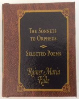 RAINER MARIA RILKE DEL PRADO MINIATURE BOOK CLASSICS THE SONNETS TO ORPHEUS