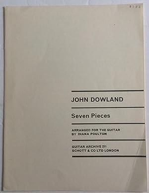 JOHN DOWLAND SEVEN PIECES Arranged for guitar: Dowland, John, Diana