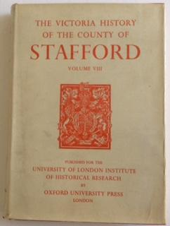 A HISTORY OF THE COUNTY OF STAFFORD VOLUME VIII: Jenkins