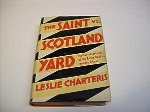 The Saint Vs. Scotland Yard: Charteris, Leslie