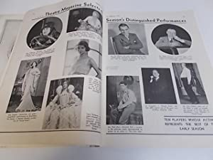 Theatre Magazine Feb., 1931: Stewart Beach and Sylvia Golden Editors